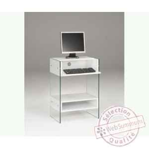 petit bureau blanc petit bureau blanc laqué bureau meuble bois lepolyglotte