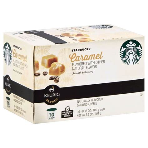 You can get the best discount of up to 100% off. Starbucks K-Cup Caramel 10ct   Starbucks recipes, Starbucks, Caramel