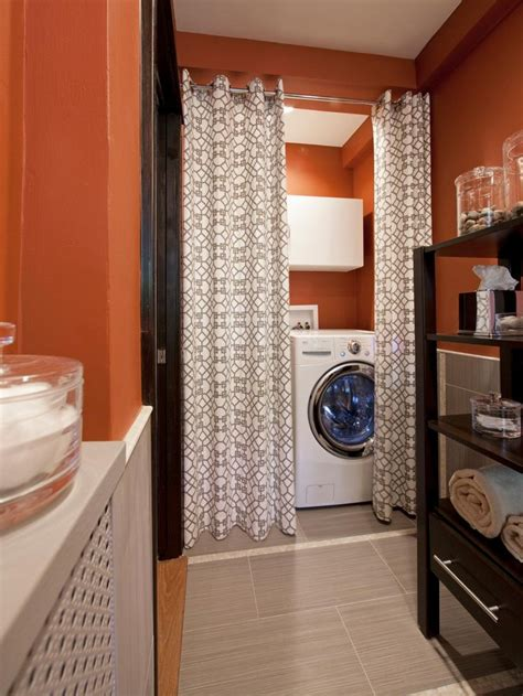 laundry spaces  cleverly conceal  unsightly