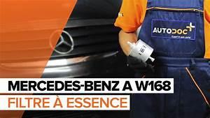 Mercedes Classe A 160 Essence : comment remplacer des filtre carburant sur une mercedes benz a w168 tutoriel autodoc youtube ~ Gottalentnigeria.com Avis de Voitures