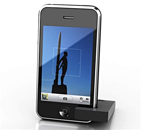iphone stands moviepeg iphone stand for simplicity gadgetsin