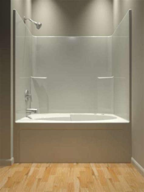 piece tub shower ideas  pinterest  piece shower fiberglass shower