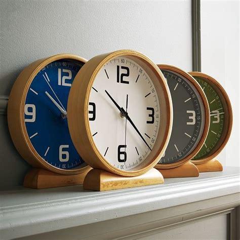 modern wooden clocks wood mantle clocks modern clocks by west elm
