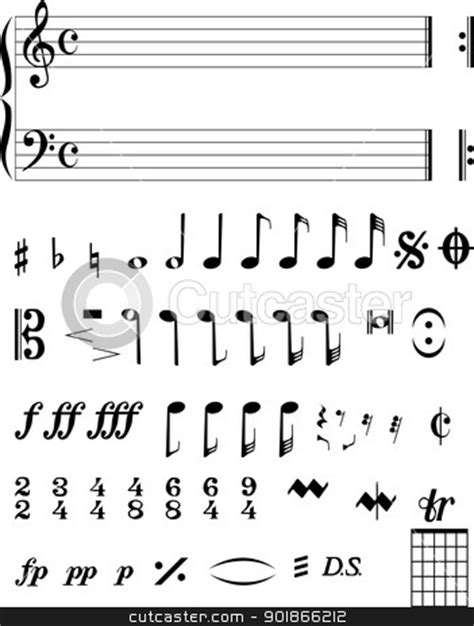 Musical Notes stock vector