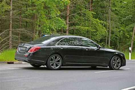 2018 Mercedes-benz S-class Facelift To Be Revealed In