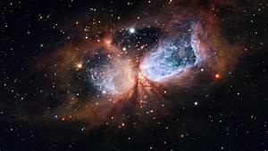Hubble/Subaru composite of star-forming region S 106 | ESA ...