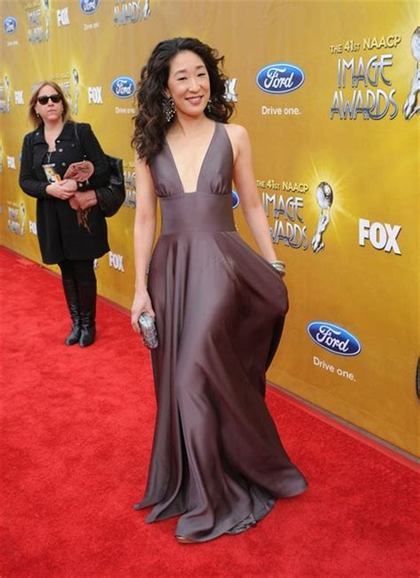 Crystal Carpets by Sandra Oh In Halston Sandra Oh Pinterest