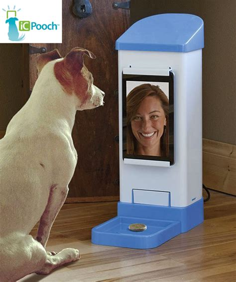 icpooch   video chat treat dispensing soother