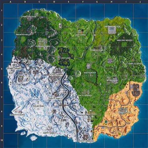 Fortnite Season 8 Map Changes Compared to Season 7