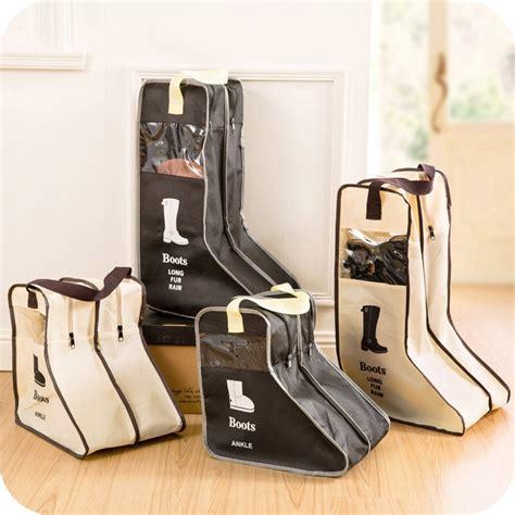 portable big shoes storage bags hanging closet cabin shoe