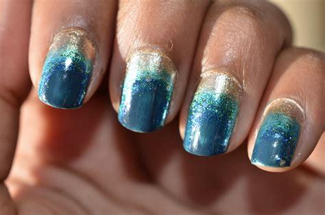 gaborillaa manicure monday ocean nails
