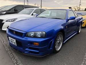 1999 Nissan Skyline R34 Gtr Vspec Bayside Blue