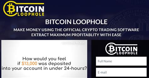 Bitcoin scams are getting more and more sophisticated. Bitcoin Loophole Review - soundchain.org