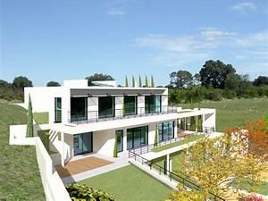 une villa moderne encastree dans la roche With logiciel pour maison 3d 6 maison d architecte contemporaine maison moderne