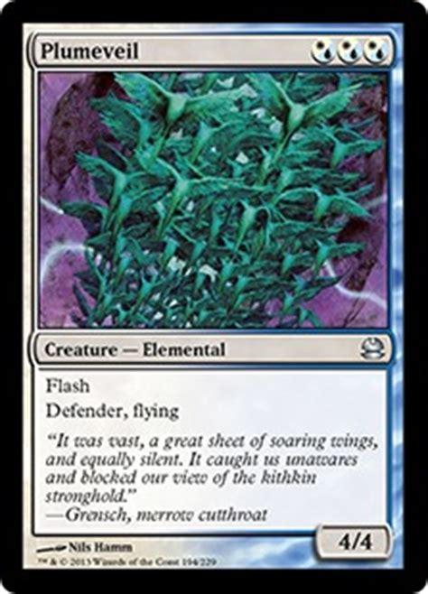 mtg defender deck modern unique type 2 mtg faeries deck with 4 plumeveils