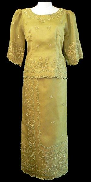 filipiniana gown  barongs