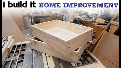 how to build kitchen cabinet drawers how to make drawers the easy way kitchen cabinet build