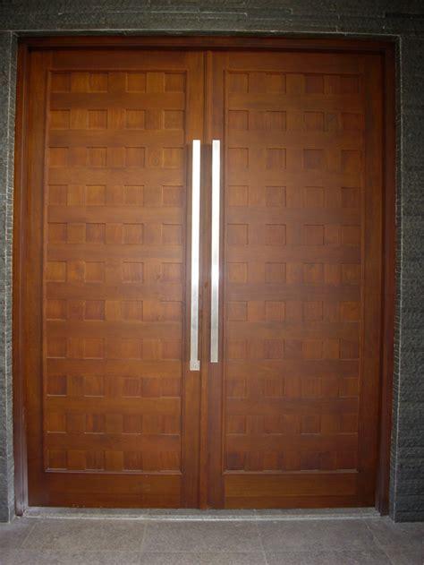 log home double front doors minimalist door design