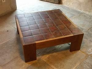 Atelier des Granges (French parquet) - Table end grain