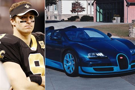 However, nothing in the collection owned by drew brees is more expensive or luxurious than his very own bugatti veyron. NFL Players' Incredible Cars & Houses - That's Expensive Car Insurance   ArticlesVally