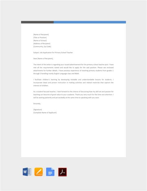Typically, a cover letter's format is three paragraphs long and includes information like why you are applying for the position, a brief overview of your professional background and what makes you uniquely qualified for the job. 37+ Job Application Letter Examples - PDF | Examples