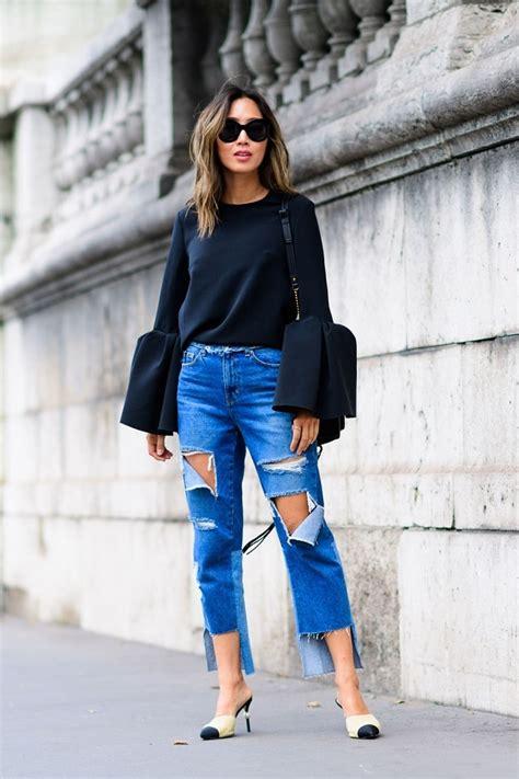 Paris Fashion Week Spring 2017 Street Style Pfw Ss17 6