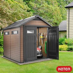 keter fusion 7ft 6quot x 9ft 5quot 23 x 29m shed costco uk With best prices on outdoor sheds