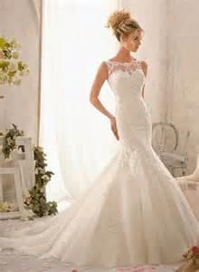 mermaid lace wedding dresses lace mermaid wedding dress magic wedding
