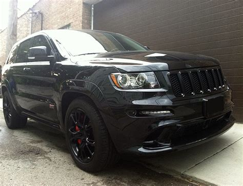 jeep cherokee blacked out 2012 jeep grand cherokee srt8 blacked out mr kustom