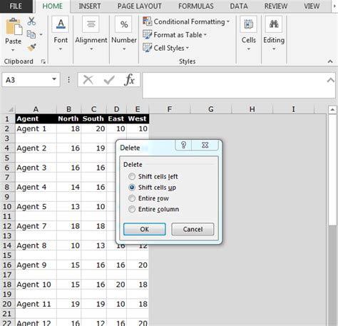 vba excel range cells excel vba delete blank cells in range how to remove blank or empty rows in excel print only