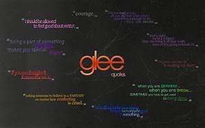 Image - Glee qu... Glee Rumors Quotes