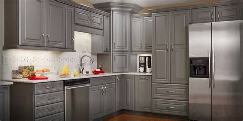 gray cabinet kitchens grey stained kitchen cabinets akomunn 1313