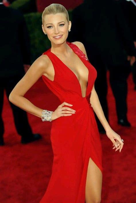 Blake Lively Red Dress Red Carpet  Show Stopper Pinterest