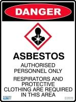 warning signage asbestos signs product list