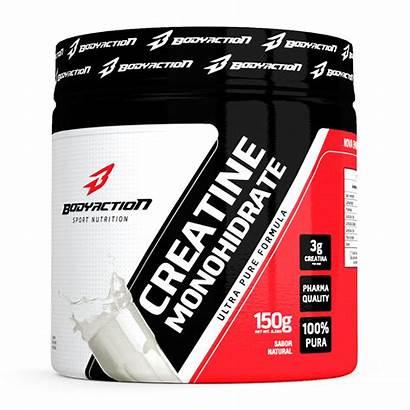 Action 150g Creatine Creatina Monohydrate Powder Bodyaction
