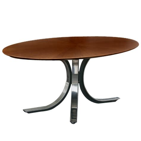 6 5 Ft Stow Davis Borsani Oval Dining Conference Table