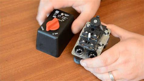 condor mdr1 air compressor pressure switch