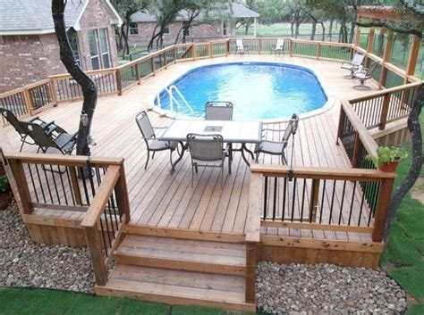 Best 25+ Above Ground Pool Slide Ideas On Pinterest