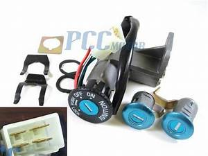 4 Wire Ignition Switch Key Set Moped Scooter For Gy6 49