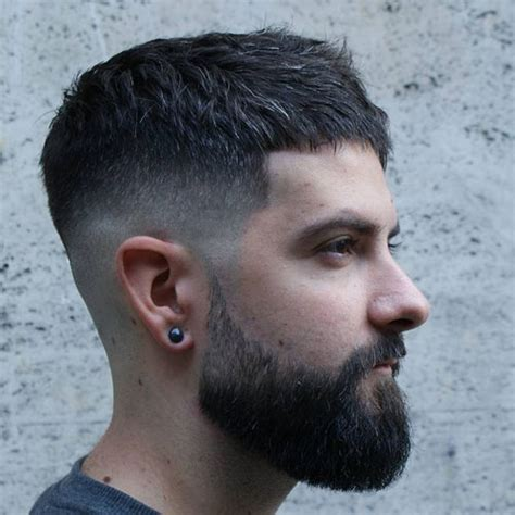 Mid Fade Haircut   Men's Hairstyles   Haircuts 2018