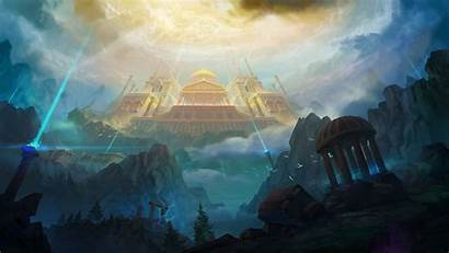 Olympus Mount Artstation Mythology Greek Gods Greece