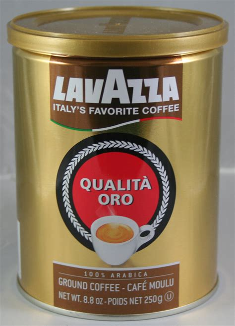 Lavazza Qualitá Oro Ground Coffee 88 Oz Doris