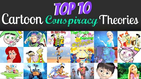Top 10 Cartoon Conspiracy Theories!