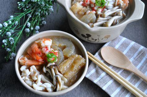 fish maw sea cucumber seafood broth eat