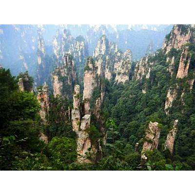 Zhangjiajie National Forest Park Wulingyuan Scenic Area
