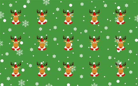reindeer pattern wallpaper holiday wallpapers