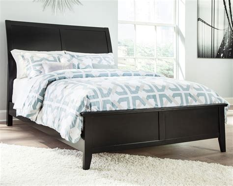 Braflin Sleigh Bed  Beds  Bedroom Furniture Bedroom