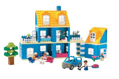 huis bouwen van duplo blauw duplo huis