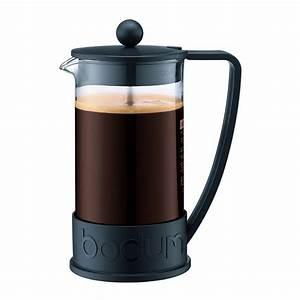 Machine À Café À Piston : cafeti re piston bodum brazil noir 1l 8 tasses 10948 01 cafeti res piston caf s querry ~ Melissatoandfro.com Idées de Décoration