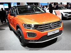 New Volkswagen TRoc SUV first UK prices and specs